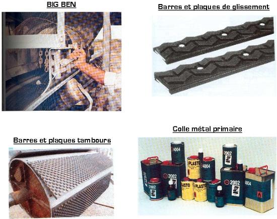 accessoires-big-ben-plaques-de-glissement-tambours-colle-metal